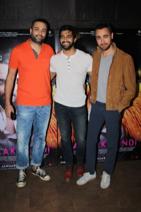 Danish Aslam, Akshay Oberoi and Imran Khan