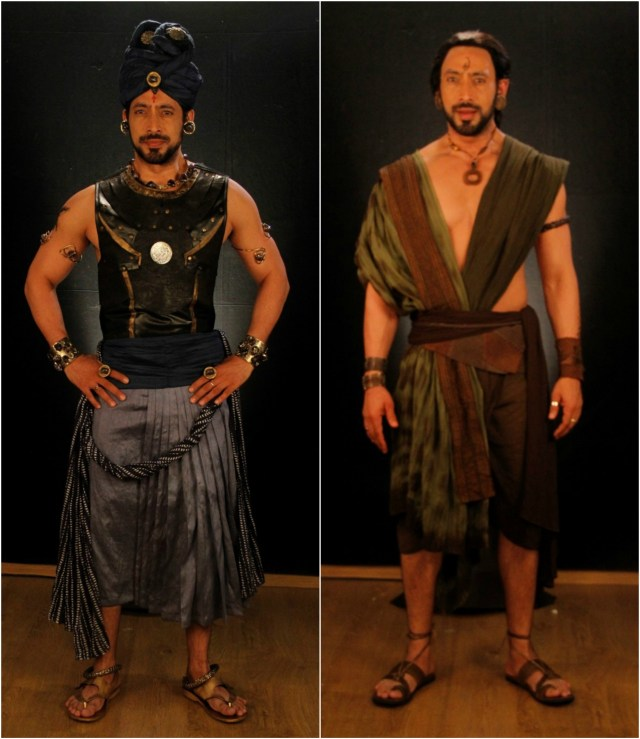 Hrishikesh Pandey is loving playing a double role in Porus