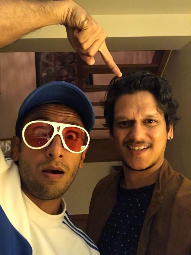 Ranveer Singh with Vijay Varma