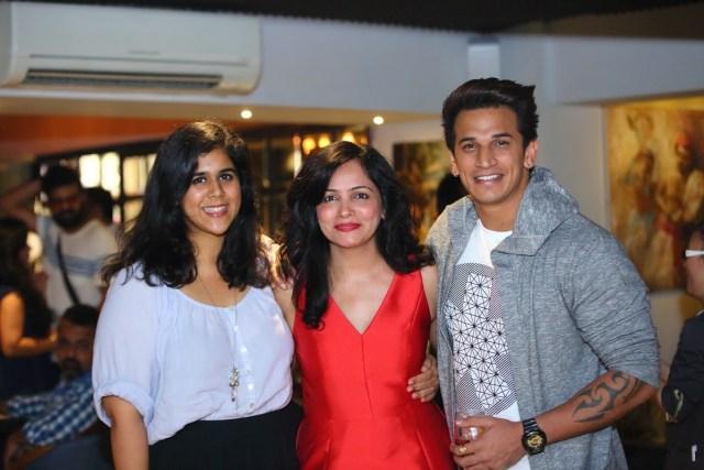 Dipti Kalwani with Rytasha Rathore and  Prince Narula