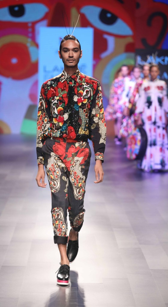 BOBO Calcutta by Ayushman Mitra at Lakme Fashion Week Summer Resort 2018