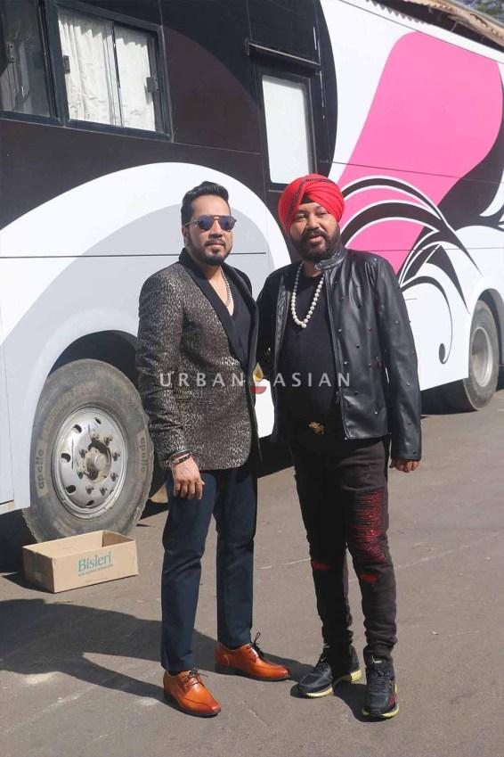 Daler Mehndi and Mika Singh