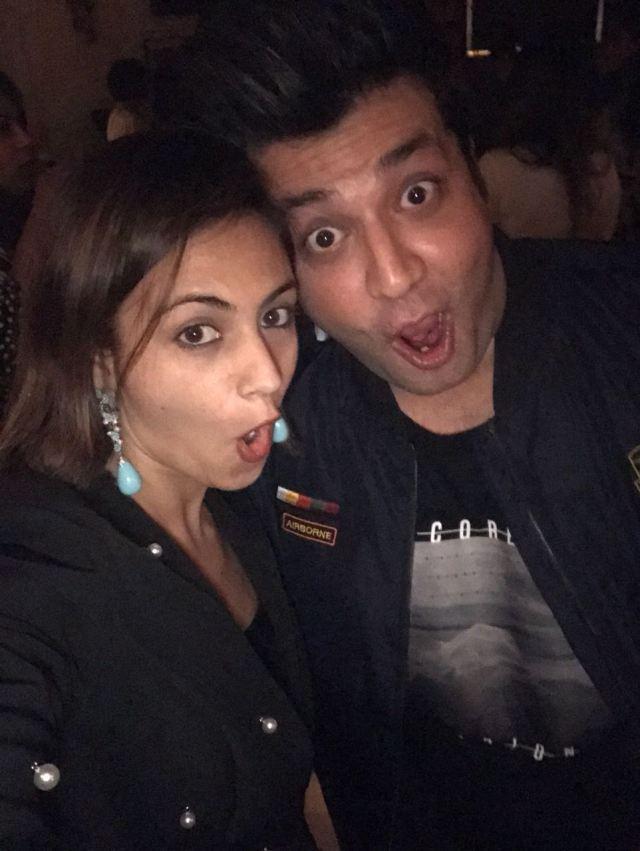 Shweta Rohira and Varun Sharma