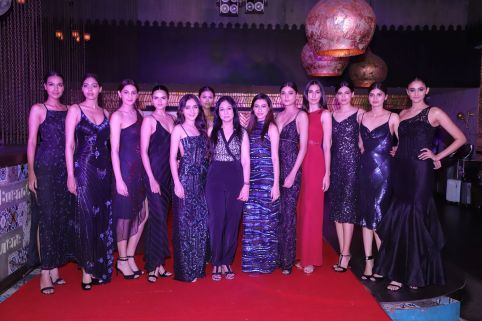 Tanya Sharma at the new collectionlaunch of The Front Row