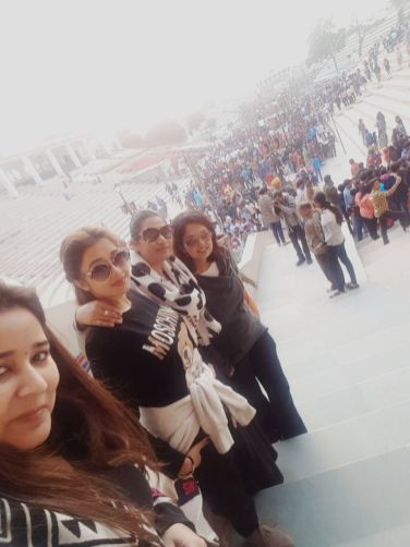 Tinaa Datta with her friends in Amritsar (1)