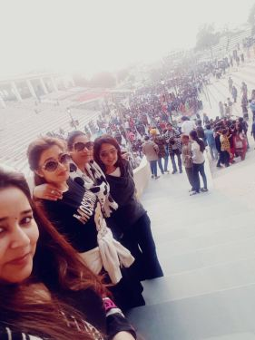 Tinaa Datta with her friends in Amritsar (5)