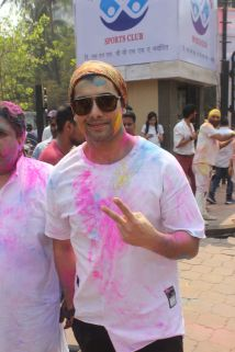 04 Sharad Malhotra @ Holi Invasion