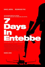 7 days in entebbbe poster