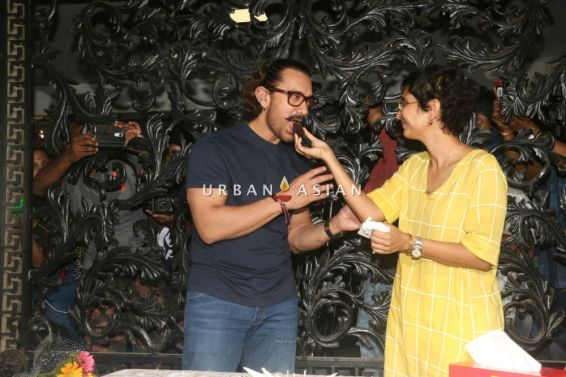 Aamir Khan Birthday Celebrations