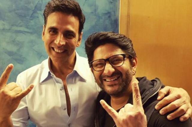 Akshay Kumar and Arshad Warsi
