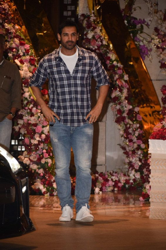John Abraham at Akash Ambani And Shloka Mehta Engagement party