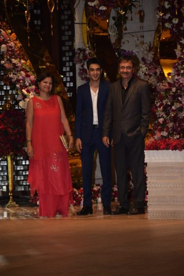Rajkummar Hirani at Akash Ambani And Shloka Mehta Engagement party