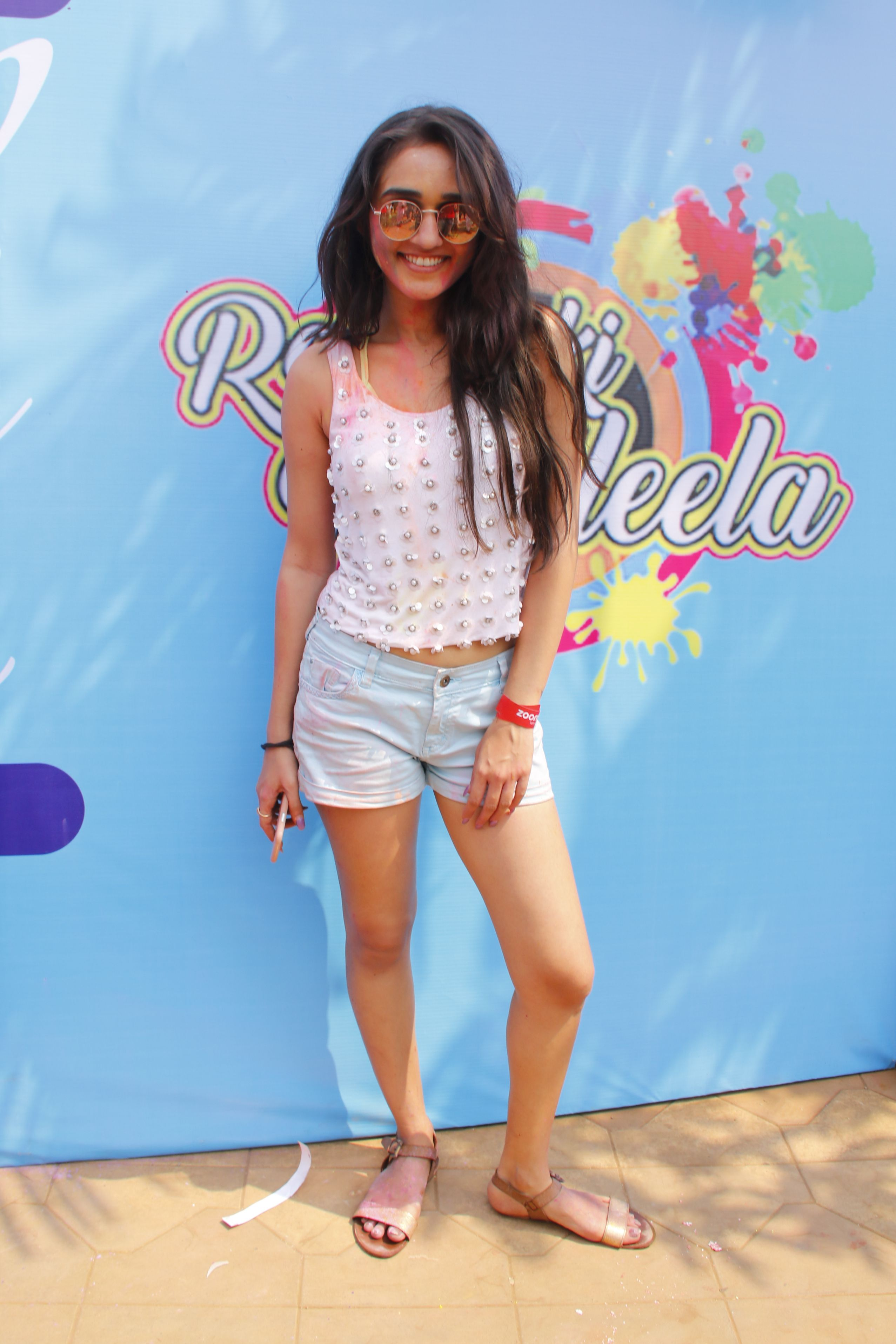 Tanya Sharma @ Holi Invasion