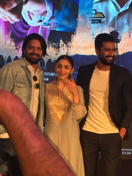 Raazi's Ae Watan song launch with Alia Bhatt, Meghna Gulzar and Vicky Kaushal (1)