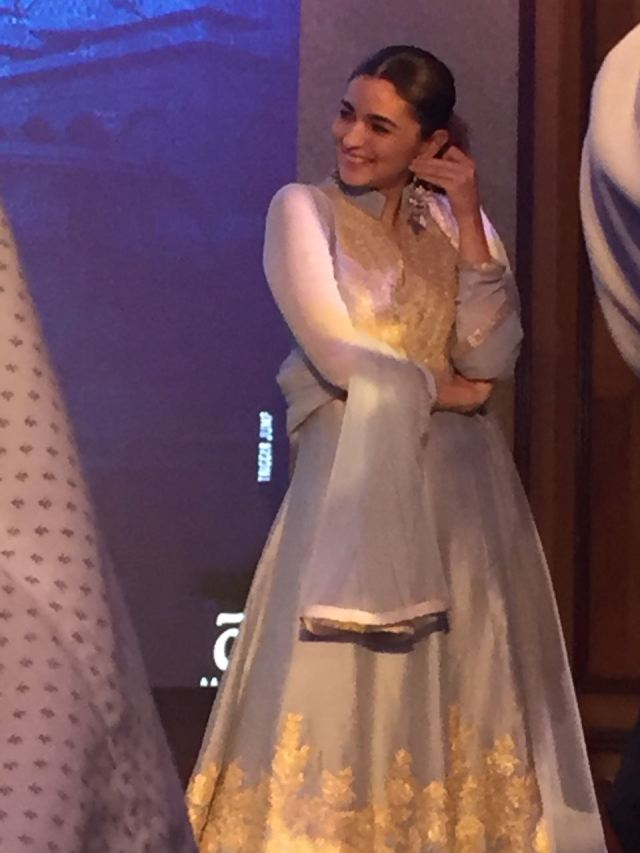 Alia Bhatt At Raazi's Ae Watan Song Launch