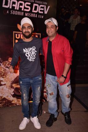 Varun Sharma, Manjot SIngh at the Premiere of DaasDev
