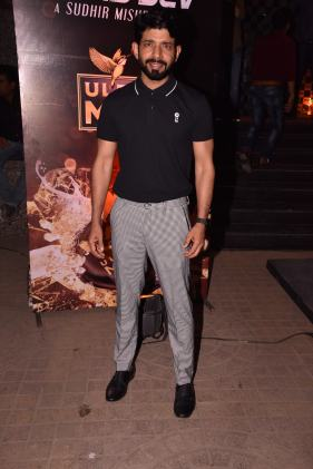 Vineet Kumar SIngh at the Premiere of DaasDev