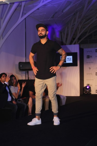 Virat Kohli at the launch of his headgear collection (4)