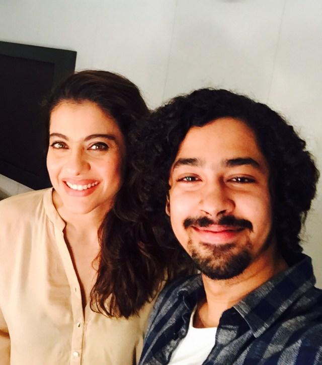 kajol with Riddhi Sen
