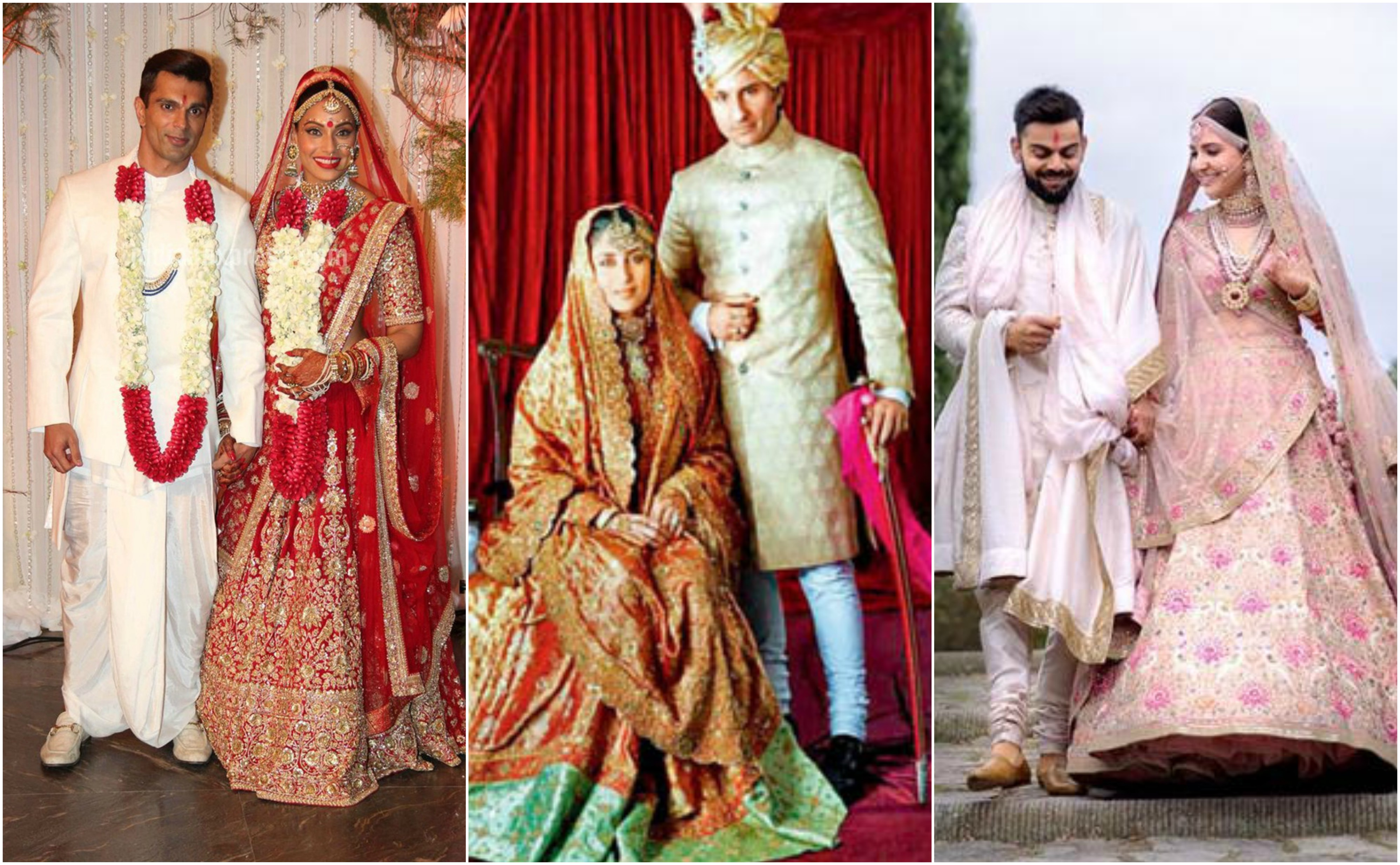 d2126874126 Wedding Special  Beautiful Outfits Of Bollywood Brides