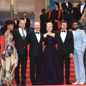 The cast and crew of Solo: A Star Wars Story at the Cannes Film Festival 2018