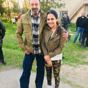 Sanjay Dutt & Lizaa Malik
