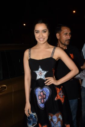 Shraddha Kapoor at Stree wrap up party (2)
