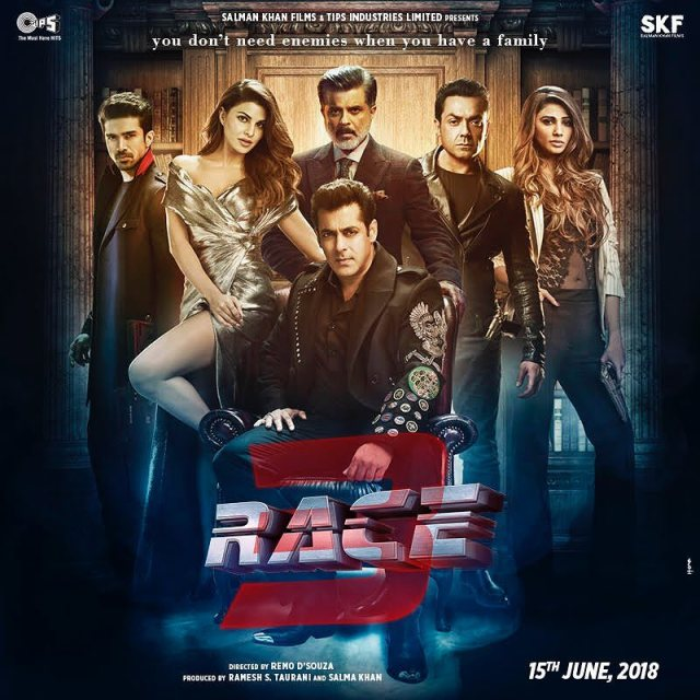 The cast of Race 3