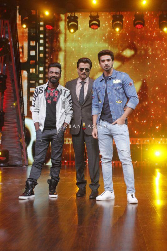Anil Kapoor along with Remo D'souza and Saqeeb salim at the sets of DID Li'l Masters (3)