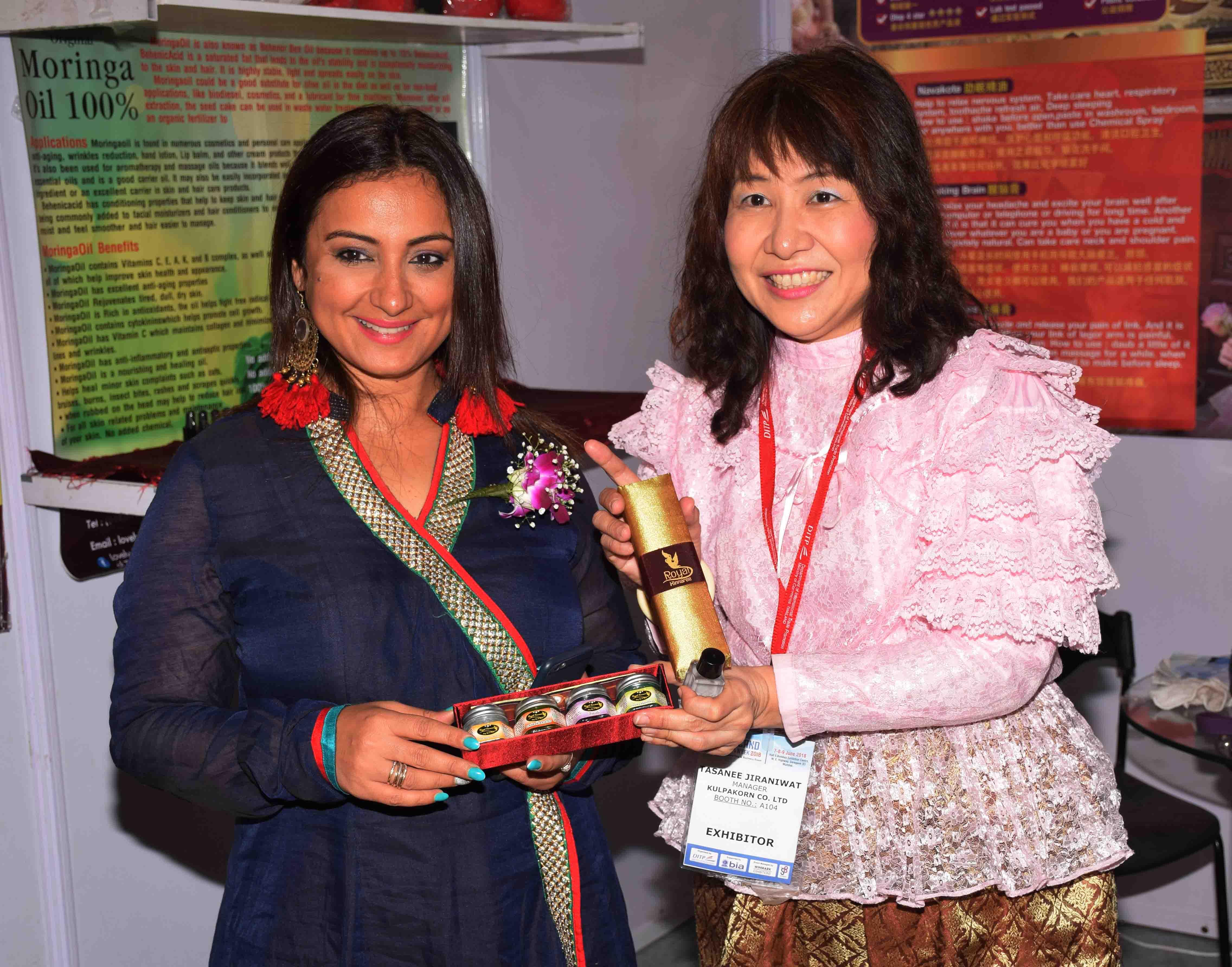 Bollywood actress Divya Dutta inaugurated the Thailand Week 2018 at Bombay Exhibition Centre, Goregaon in Mumbai4