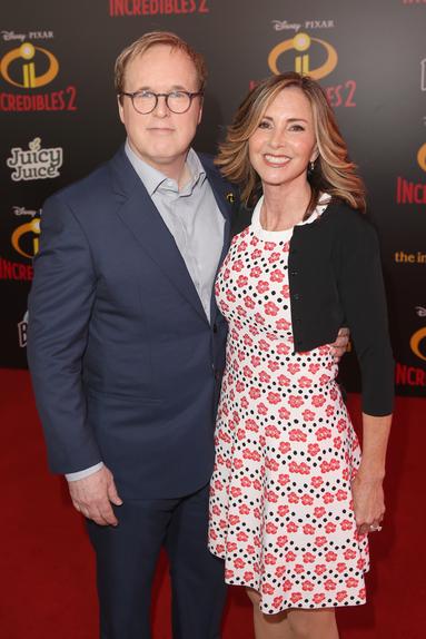 Brad Bird and Elizabeth Canney