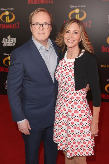Brad Bird and Elizabeth Canney