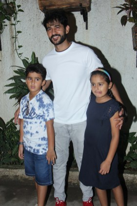 Hiten Tejwani at Incredibles 2 screening