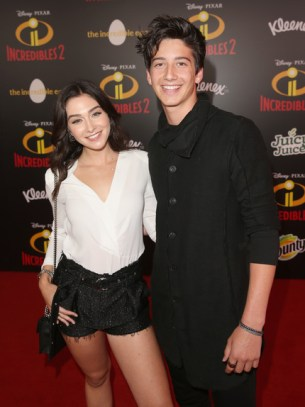 Holiday Mia Kriegel and Milo Manheim