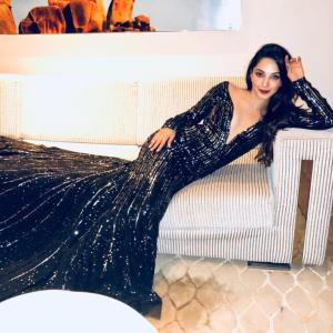 Kiara Advani slays it in a Manish Malhotra gown
