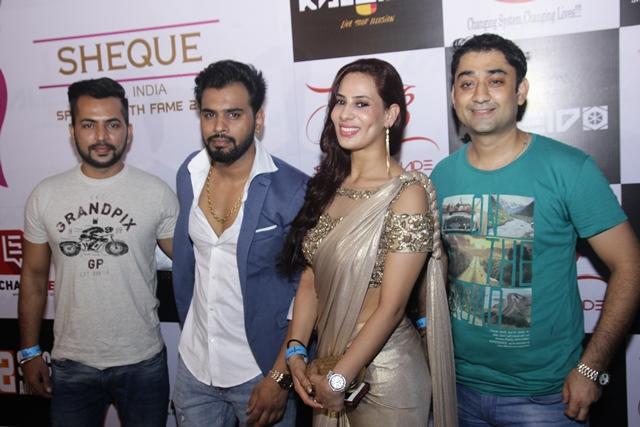L - R Alok Narula, Karan Singh Prince, Myra Singh Sandu, Dheeraj