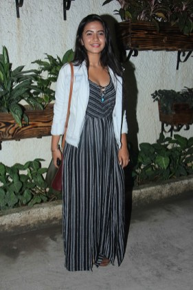 Meera Deosthale at Incredibles 2 screening