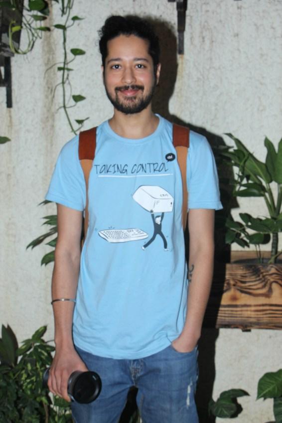 Rajat Bharmecha at Incredibles 2 screening