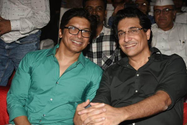 Shaan and Shiamak Davar at Bhamla Foundation's World Environment Day celebrations at Carter Road