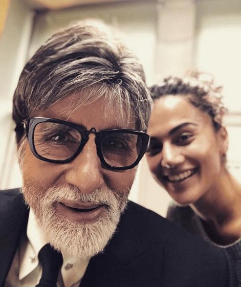Amitabh Bachchan- Taapsee Pannu