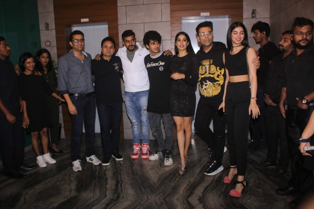 Dhadak success bash