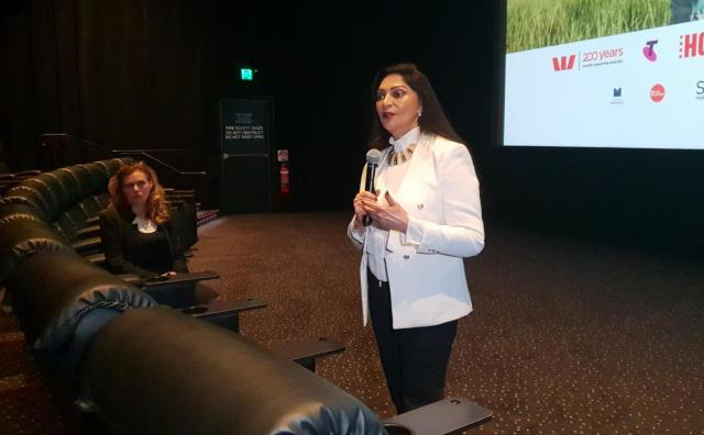 Simi Garewal at the special screening of Siddhartha in Melbourne (3)