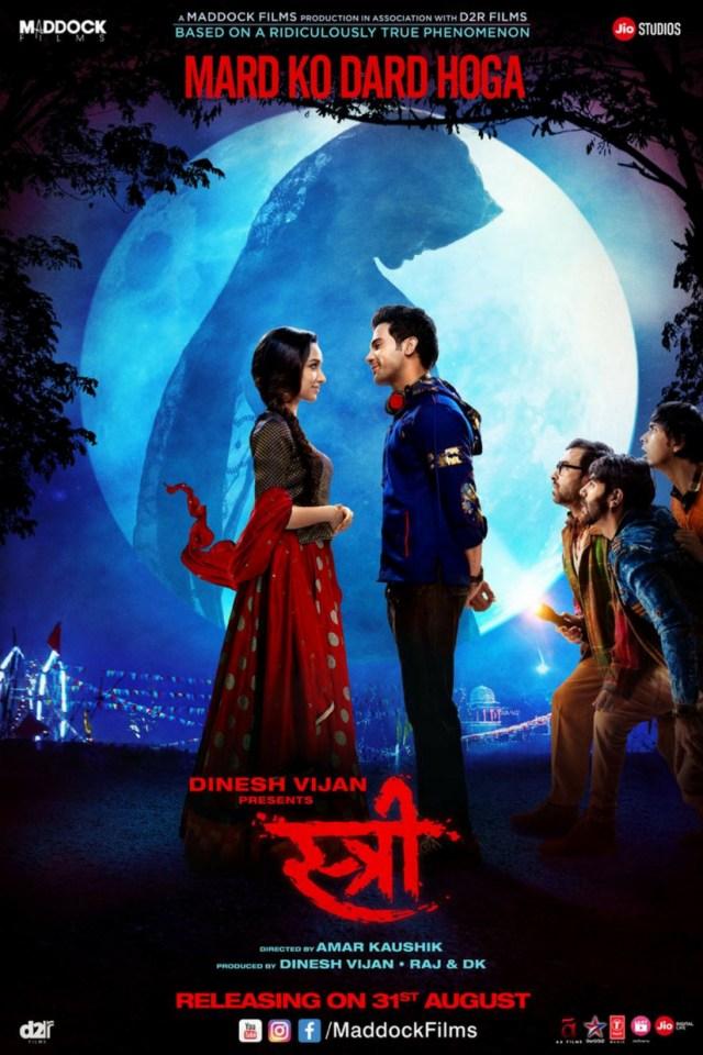 Stree Movie Poster