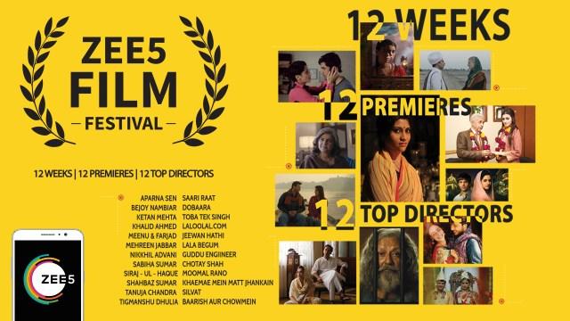 ZEE5 Film Festival Poster