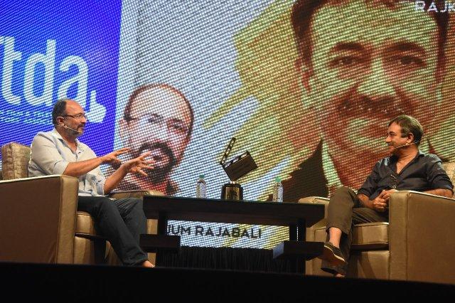 Anjum Rajabali, Rajkumar Hirani