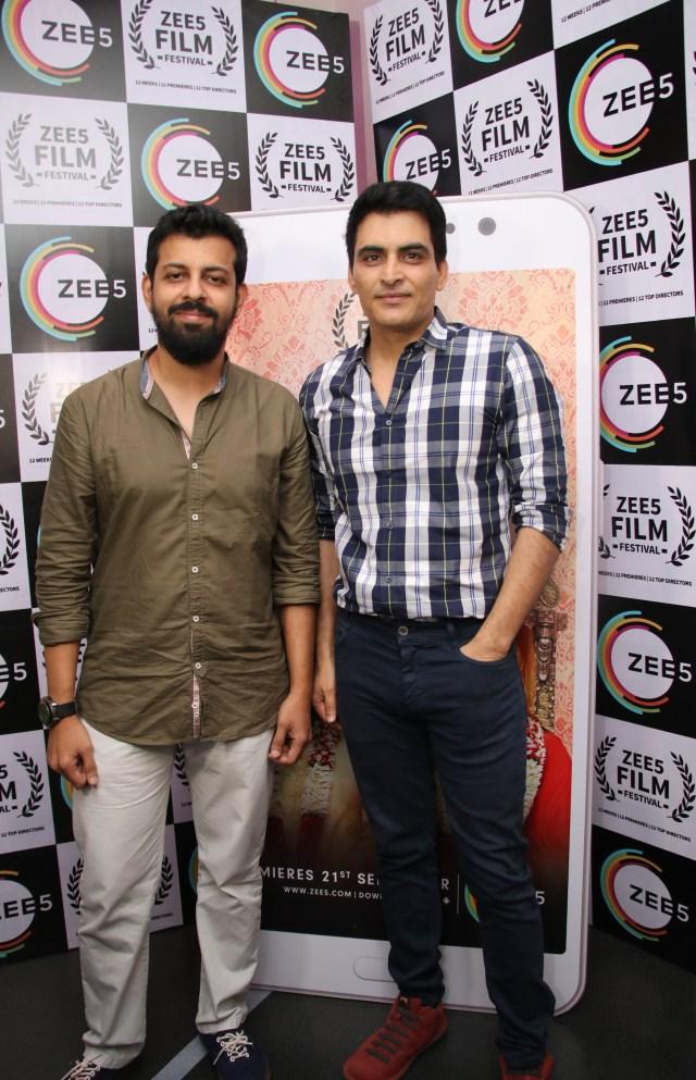 Bejoy Nambiar and Manav Kaul at the special screening of Dobaara_ZEE5 Film Festival