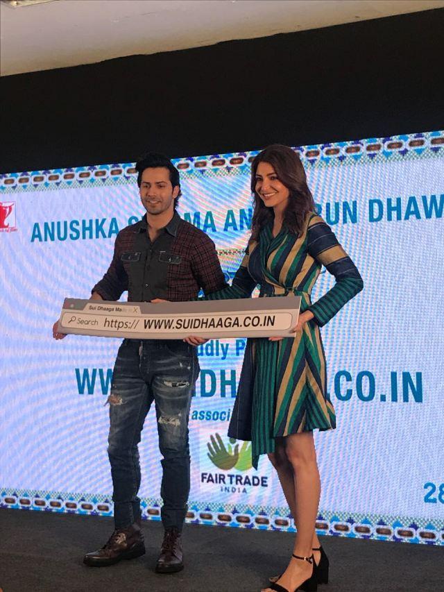 Varun Dhawan & Anushka Sharma