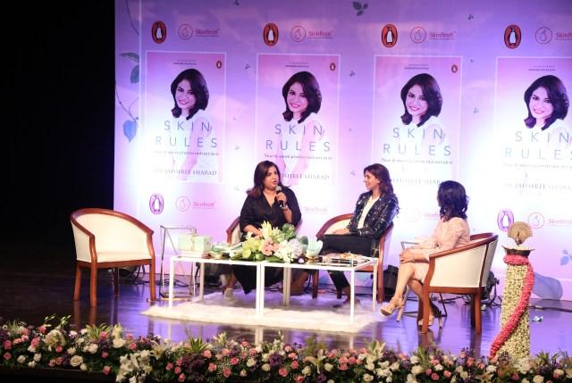 Dr.Jaishree Sharad skin rules, skin talks