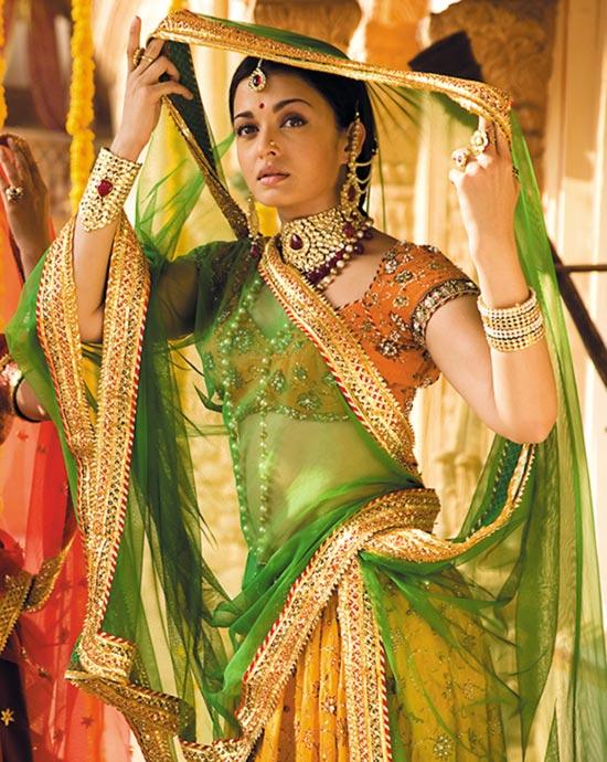 Aishwarya Rai in Jodha Akhbar