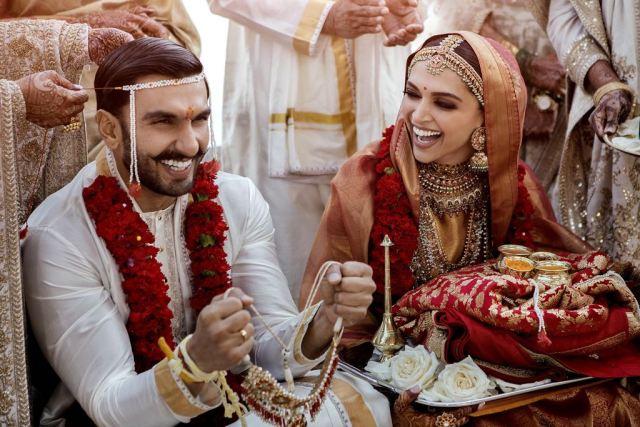 Ranveer Singh and Deepika Padukone Konkani wedding